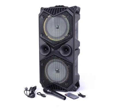 АКТИВНА ТОНКОЛОНА КАРАОКЕ FM MP3 BT MK-1819