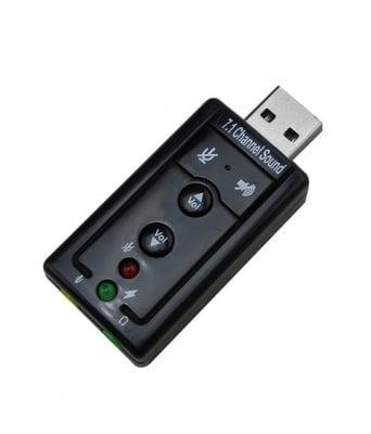 АУДИО КАРТА USB 7.1