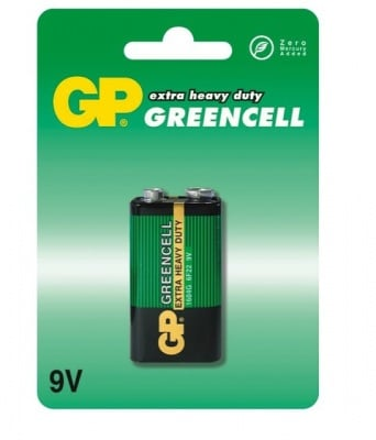 БАТЕРИЯ 9V GP GREENCELL