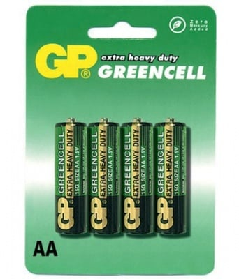 БАТЕРИЯ R06 GP GREENCELL