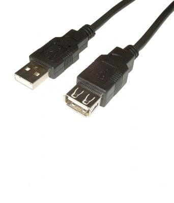 КАБЕЛ 143/1.8 USB 2.0 УДЪЛЖИТЕЛ