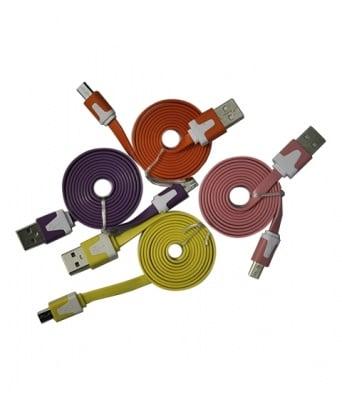 КАБЕЛ 167 ЦВЕТЕН USB MICRO/USB