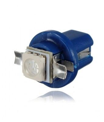 ЛАМПИ 12V B8.5D LED BLUE 5050