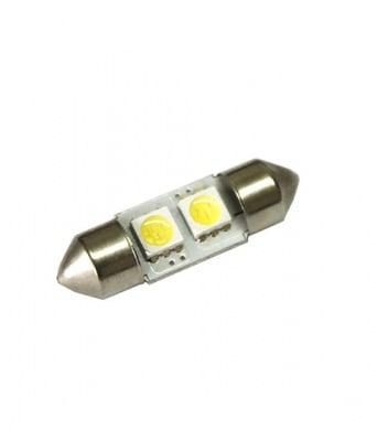 ЛАМПИ 12V T11 31MM LED 2X5050