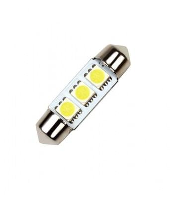 ЛАМПИ 12V T11 36MM LED 3X5050 1