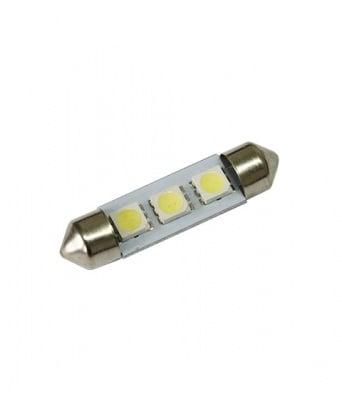 ЛАМПИ 12V T11 39MM LED 3X5050