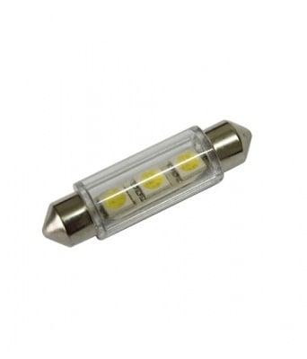 ЛАМПИ 12V T11 41MM LED 3X5050