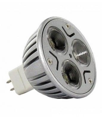 LED ЛУНА 3X1W MR16 12V WHITE