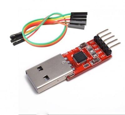 ПРЕХОД USB/TTL ИНТЕРФЕЙС 3.3/5V