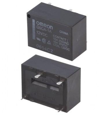 РЕЛЕ 12V/10A G5CA-1A-12DC
