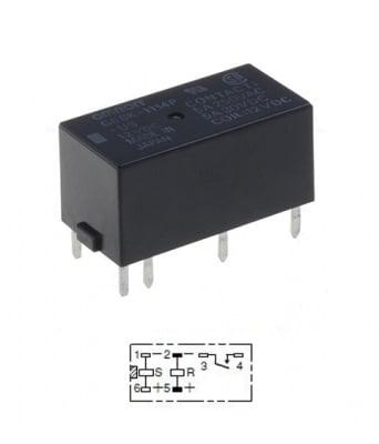 РЕЛЕ 12V/5A G6BK-1114P-US 12VDC
