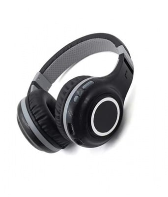 СЛУШАЛКИ БЕЗЖИЧНИ С МИКРОФОН FM БЛУТУТ MP3 B61