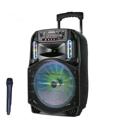 """ТОНКОЛОНА 12"""" PA121 FM/SD/BLUETHOOT/USB КАРАОКЕ"""