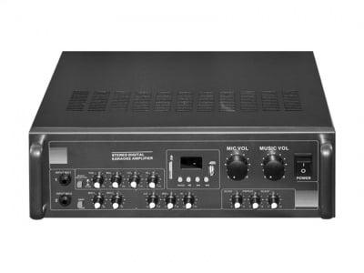 УСИЛВАТЕЛ МИКСЕР FM USB MP3 KM-6100S