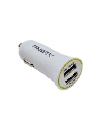 ЗАРЯДНО USB 12V/24V 2100mA 2USB