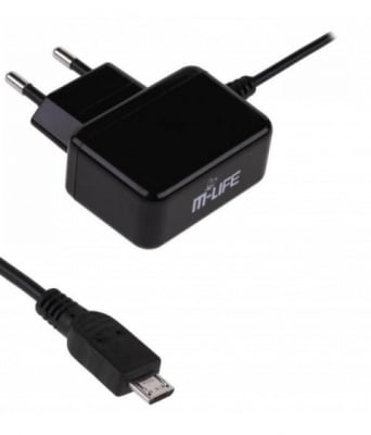 ЗАРЯДНО USB MICRO 5V/2.1A