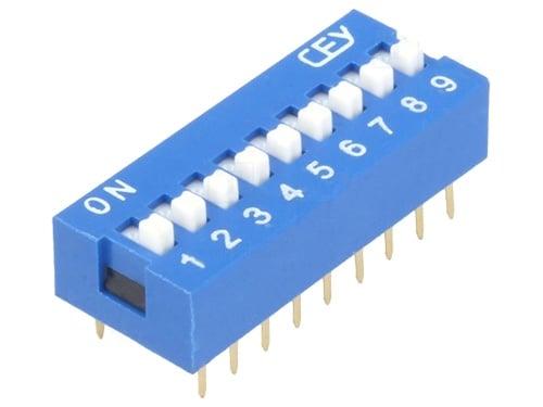 Превключвател DIP switch  DS-09