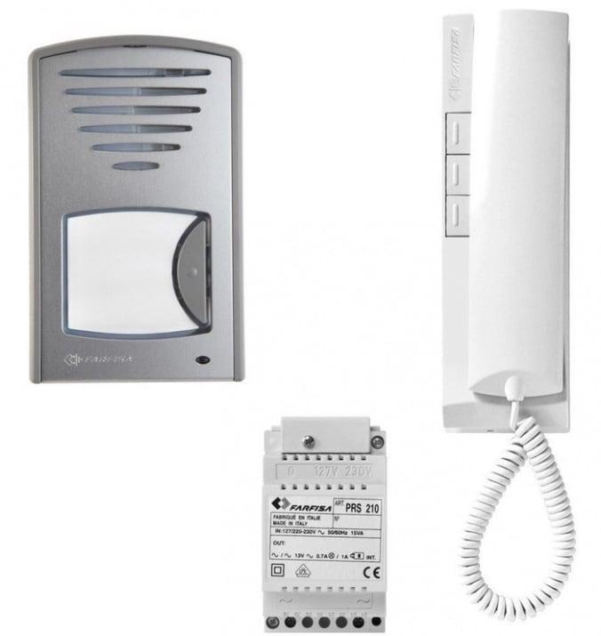 Комплект еднофамилна аудиодомофонна система Farfisa 1CKSD