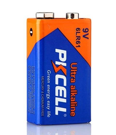 Алкална батерия 9V PKCELL 6LR61
