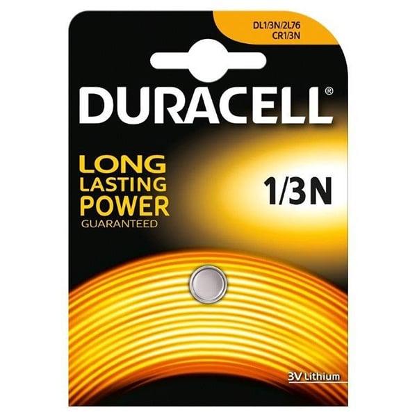 Литиева батерия DURACELL 1/3N, CR1/3N, DL1/3N, 2L76