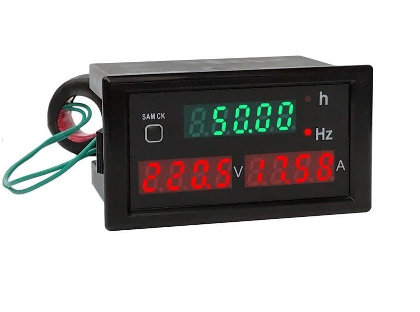 Комбиниран цифров волтметър амперметър честотомер AC