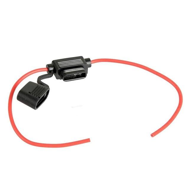 Гнездо за автомобилен предпазител с кабел 4мм