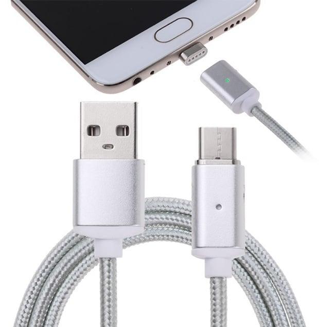 Магнитен кабел с  USB TYPE C 1 метър