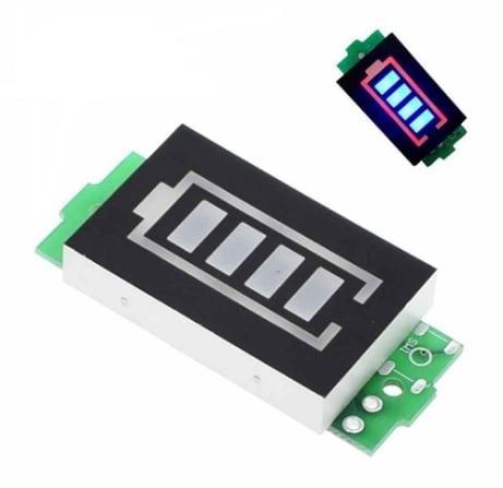 Тестер индикатор на капацитет на 2X3.7V / 7.4V LI-ION/LI-PO батерия