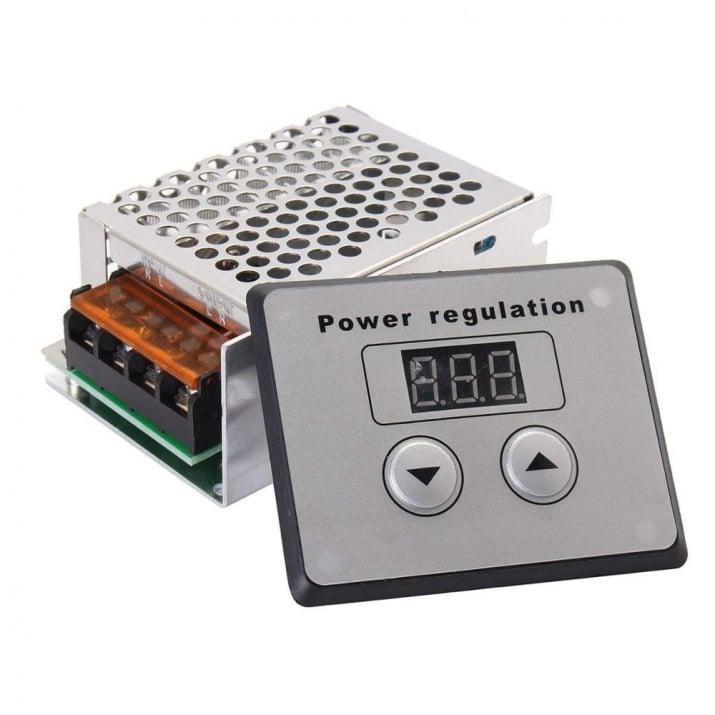 Регулатор на мощност 4000W с дисплей