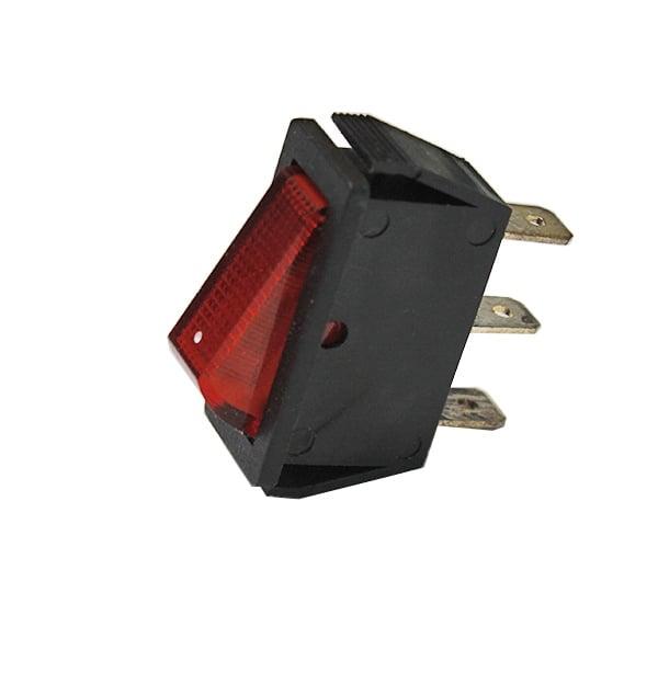 Клавишен превключвател MK811AD/R 15A 12VDC