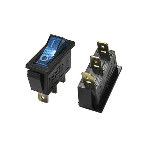 Ключ MK811CN/BL ON-OFF, светещ 2 позиции