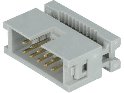 Съединител мъжки IDC за лентов кабел 10 PIN