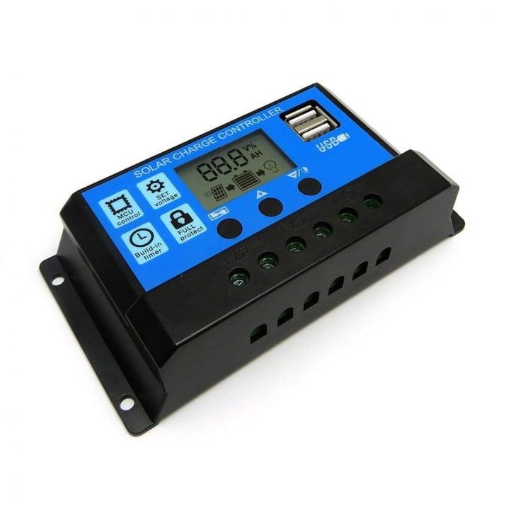 Контролер за фотоволтаичен панел 12/24V 20A KLD1220