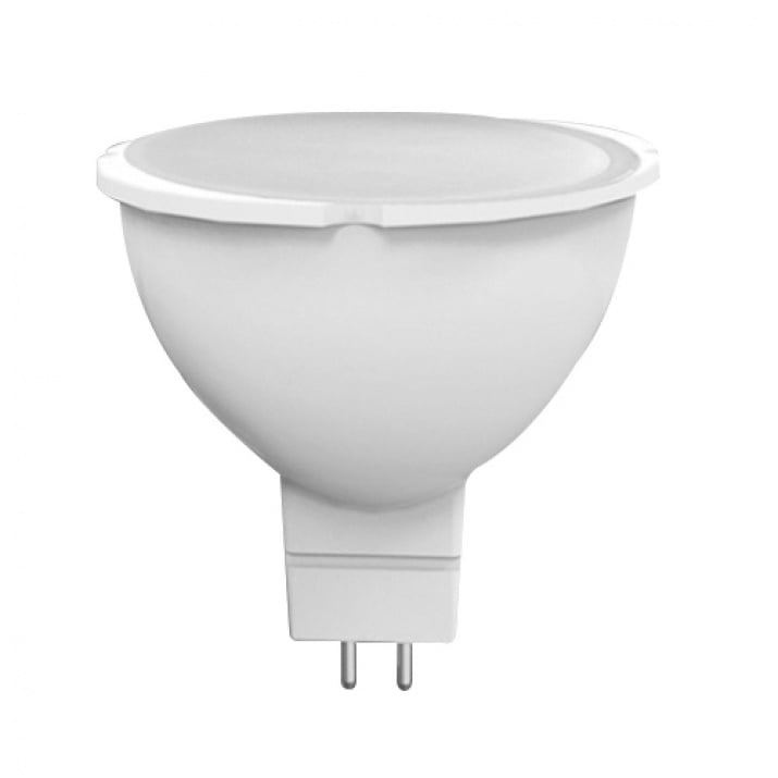 LED луничка 220V 7W топла светлина MR16 GU5.3