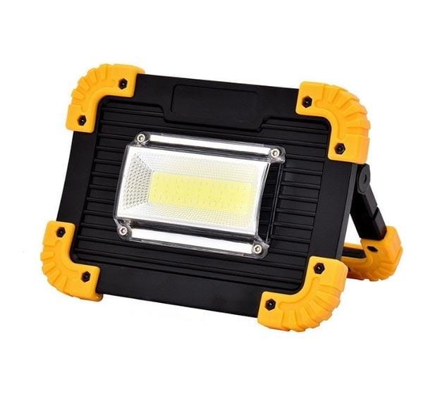 LED фенер 20W с акумулаторна батерия 811