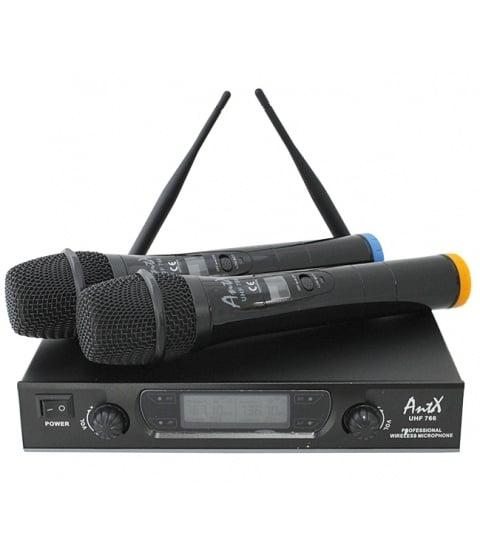 Безжичен микрофон ANTX UHF766