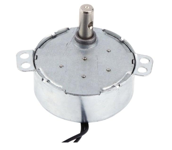Мотор 220V 5RPM нискооборотен
