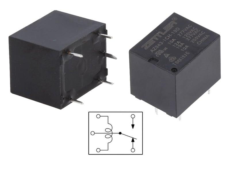 РЕЛЕ 18VDC 10A AZ943-1CH-18D