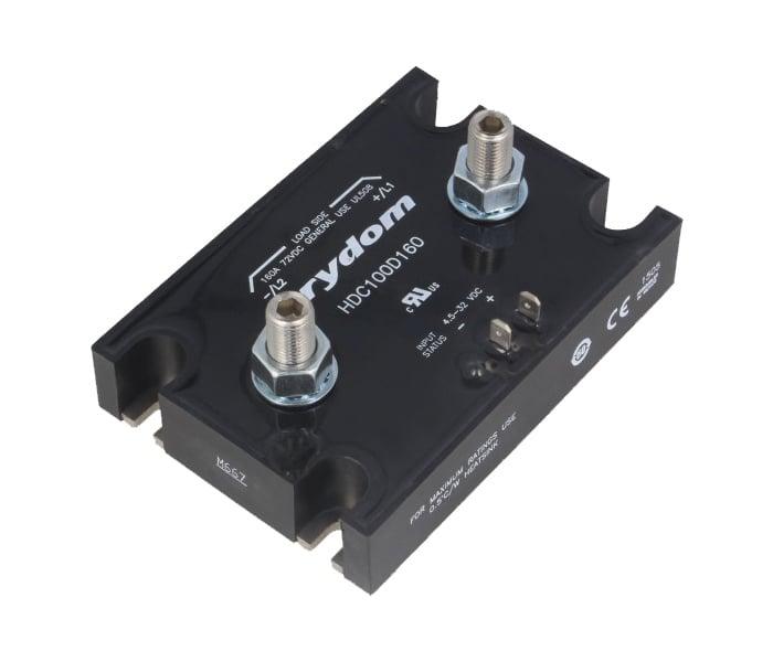 РЕЛЕ ПОЛУПРОВОДНИКОВO  4.5÷32VDC  160A  HDC100D160