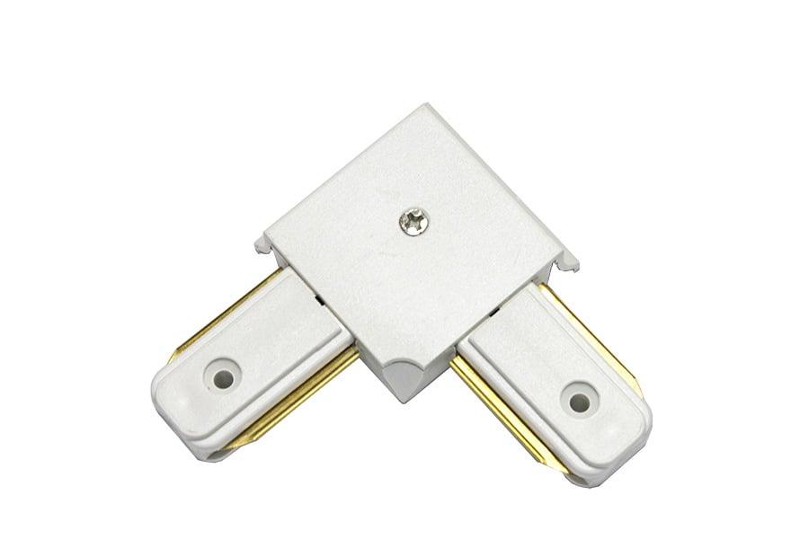 L съединител за монофазна шина 2 pins - LIGHTEX