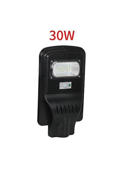 Соларен Светодиоден прожектор със сензор за движение и фотоклетка 30W