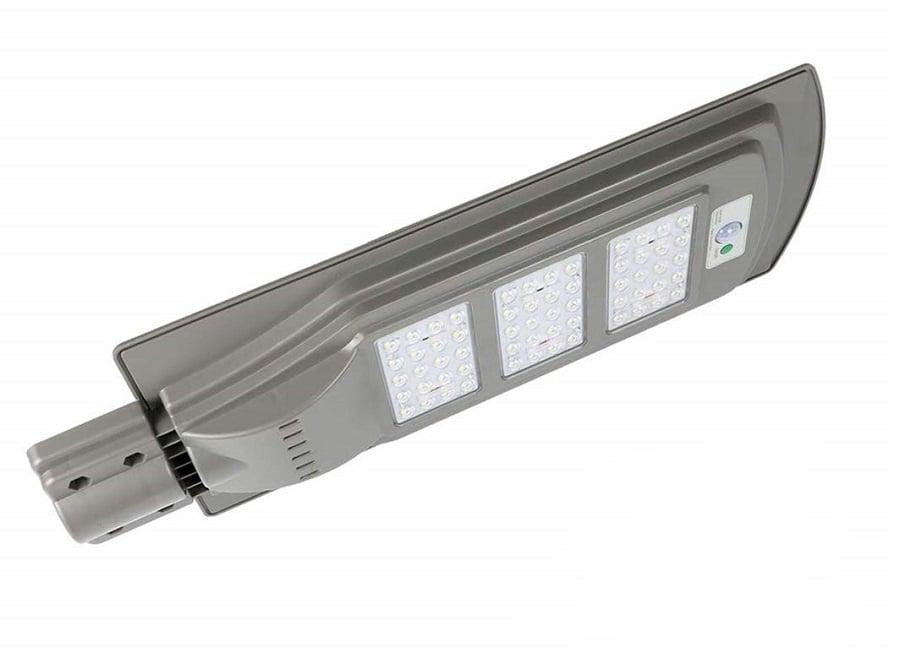 Соларен Светодиоден прожектор със сензор за движение и фотоклетка 60W