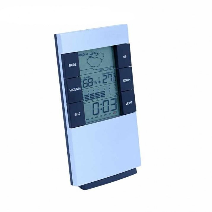 Метеостанция CX-506, термометър, влагомер, часовник и аларма.