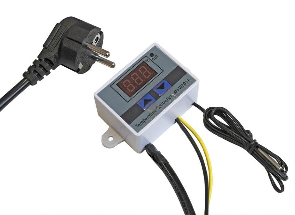 Цифров регулатор на температурата Термостат  -50 до +110C 220V AC