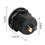 Цифров волтметър индикатор на заряд авто 12VDC