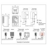 Термостат регулатор на температура от 0 до +60C 10A
