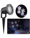 LED Snowflake Christmas Lights Waterproof Projector